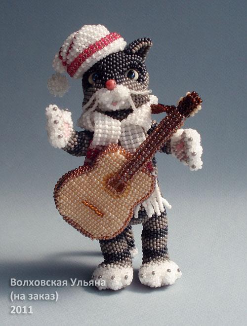 4. 2. игрушки из бисера автор этого великолепия Ульяна Волховская.